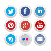 Sociale Media geïntegreerd