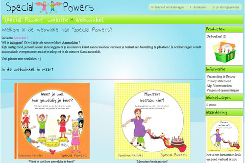 Special Powers Webshop