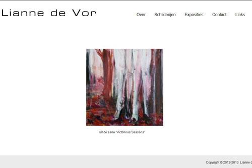 Lianne de Vor, schilderijen, seizoenen